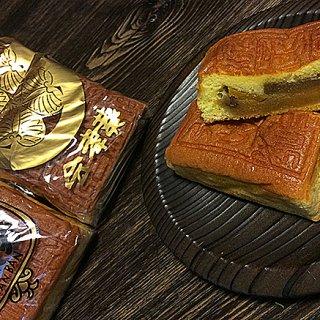 会津藩御用の茶問屋が作る、フルーツや餡がたっぷり入ったカステラ「かすてあん」