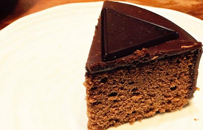 世界で一番有名なチョコレートケーキ