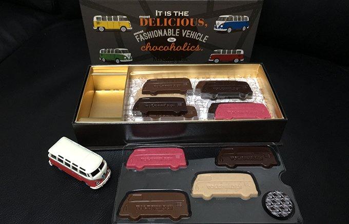 大人の遊び心くすぐるBeetle型のチョコレート