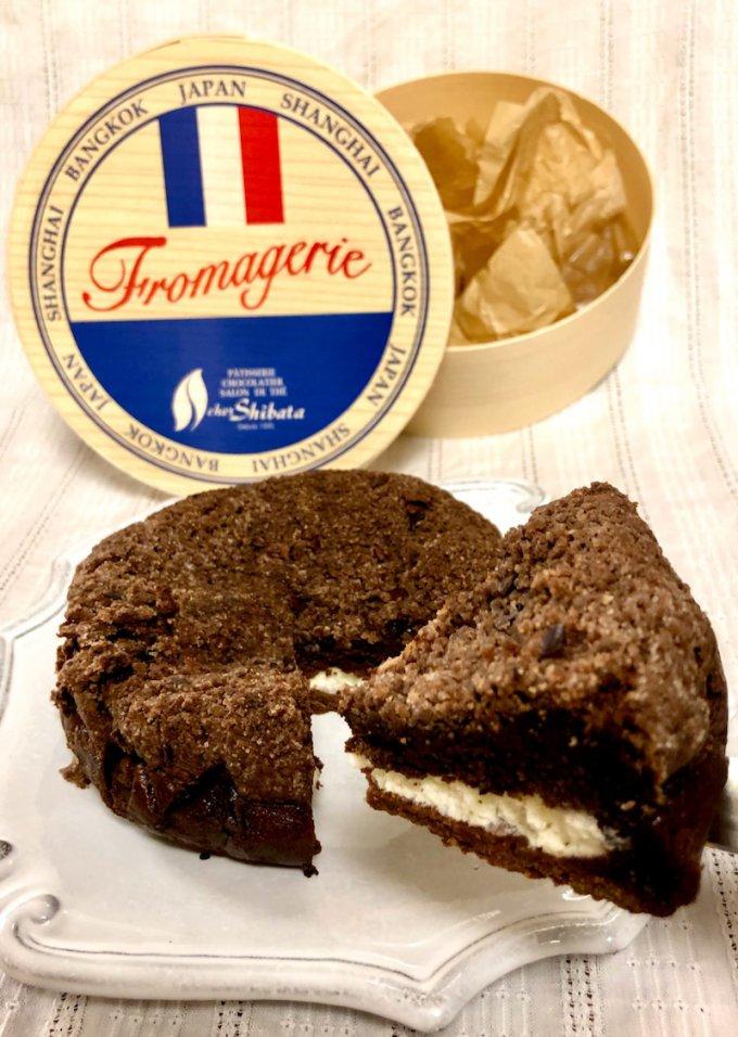 チーズケーキブームに一石を投じるショコラチーズケーキが登場!