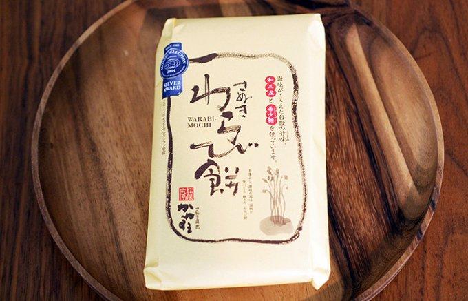 のど越しのいいシンプルで素朴な「松風庵かねすえ」の王道わらび餅