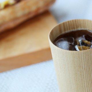 木のぬくもりを伝えるグラス「Kami Glass」