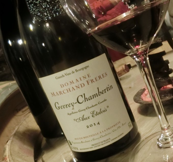 Gevrey Chambertin パワフルな赤ワインを!!