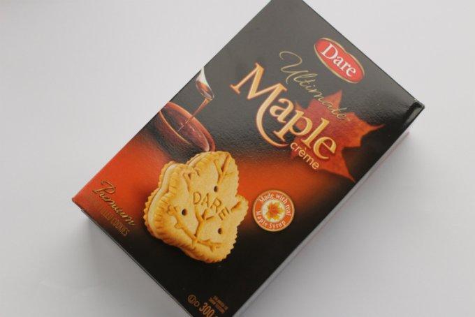 カナダ産メープルシロップがたっぷり入った贅沢なクッキー「デア クッキー」
