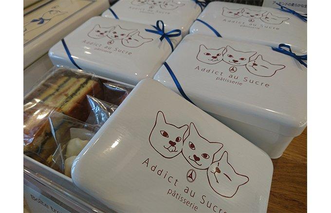 都立大学のパティスリーで大人気の猫缶クッキー!