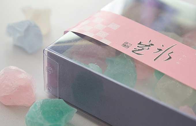涼を誘う和菓子、日本三大菓子処松江の『氷室』