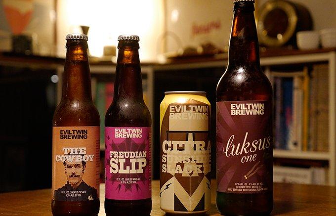 右手に火炎瓶、左手にカウボーイ。クラフトビール界に悪魔の双子が ...