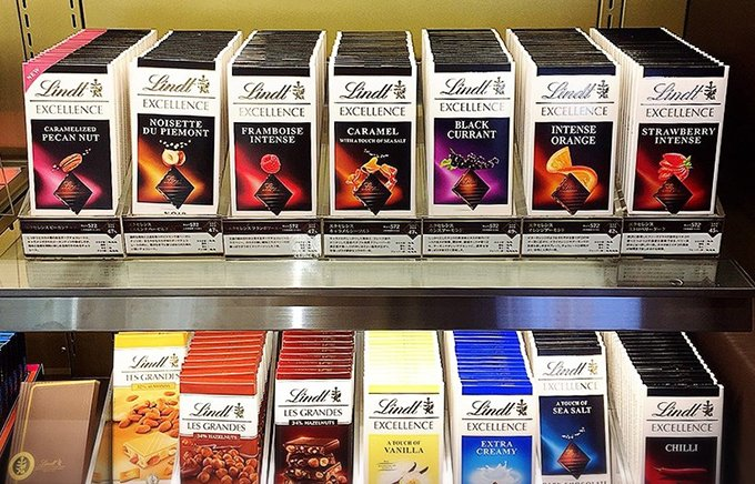 男性ウケする義理チョコの新定番!リンツの「タブレット型チョコレート」