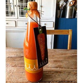 福岡のお墨付き!かつてない甘み、鮮やかなオレンジの「にんじんジュース」