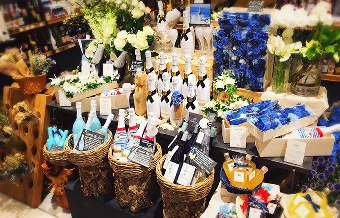 大切な方へのギフトにはワインと花束を!新宿NEWoMAN「CORK」