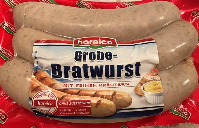 焼いてジューシー。本場ドイツからハライコ社の焼きソーセージ
