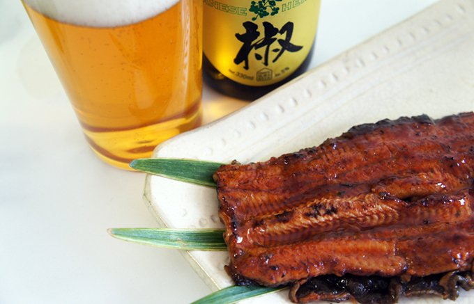 ピリッと爽やかな香味が広がる『山椒エール』。土用丑の日の鰻とぜひ!