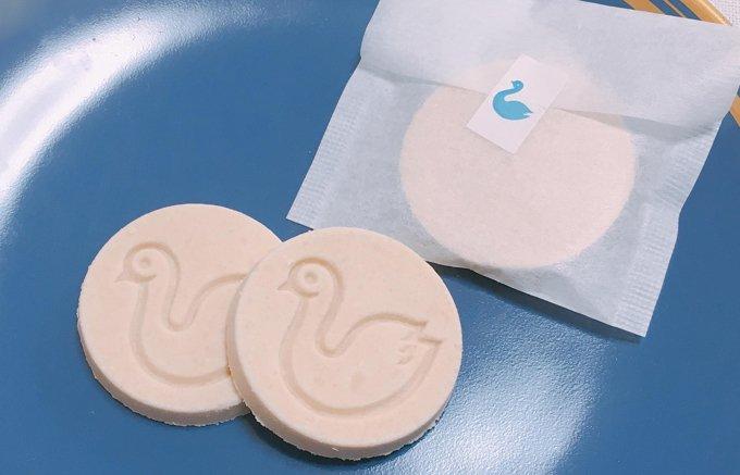 幸せを運んでくれるお菓子『開運堂』の「白鳥の湖」