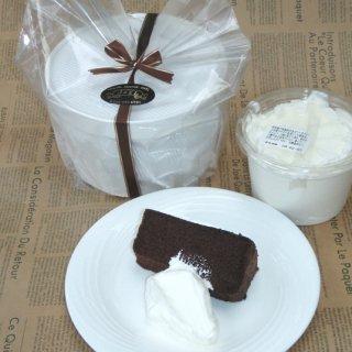 食感が決めて!! チョコ味のシフォンケーキ
