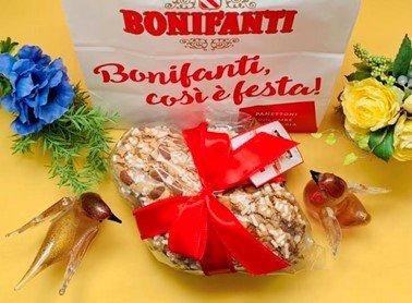 春のパネトーネ!鳩の形のイースターのパン「コロンバ」