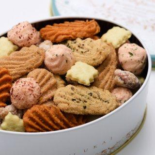 缶を空けたら漂うスパイスとハーブの香りがたまらない!アトリエうかいのクッキー缶
