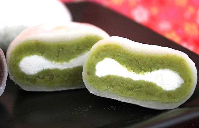冷やして食べる生クリーム大福! 和と洋のハーモニーの仙台銘菓