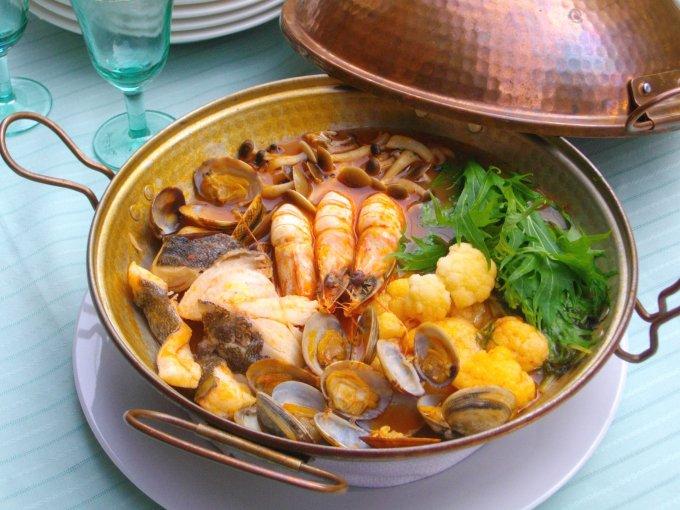 ポルトガルで鍋を楽しむ!あんこう鍋、海鮮鍋を贅沢に…