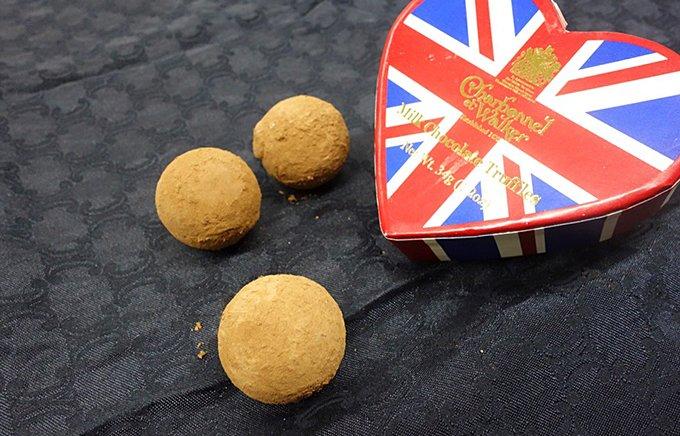 シャンパンと合わせたい!英国王室御用達のトリュフチョコレート