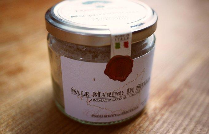 イタリアシチリア産のレモンと合わせた爽やかソルト「レモンソルト」