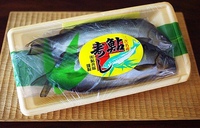 シャリが卯の花!?広島県三次の夏の風物詩「鮎寿し」は「ぶち、うまーでー」