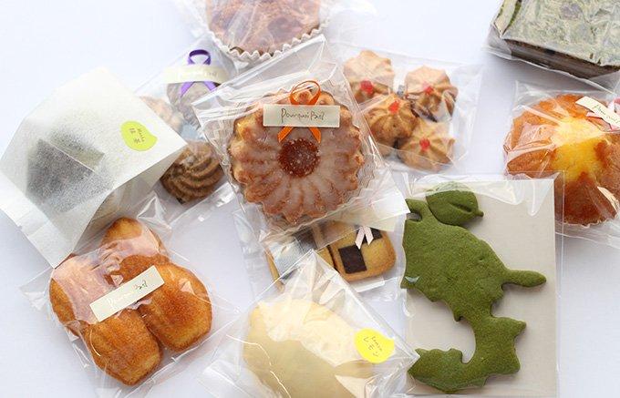 抹茶の美味しさと食感の良さが印象に残るパティスリープルクワパ?の「静岡クッキー」