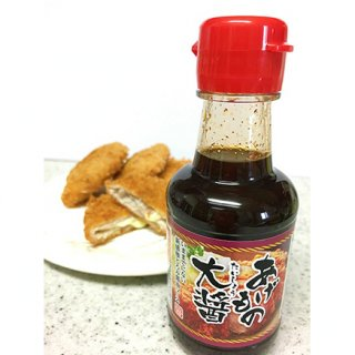 ソースがしょうゆ味?!米粉でとろみをつけた醤油ソース「あげもの大醤」