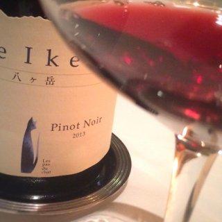 【八ヶ岳ワイン】自然の美しさが映る、ドメーヌ ミエ・イケノのピノ・ノワール
