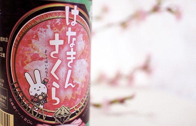 満開の下で飲みたい!「桜」から抽出した桜酵母で造るビール『はなきんさくら』