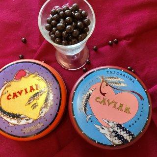 心をくすぐる!キャビアそっくりの粒々チョコレート「テオブロマのキャビア缶」