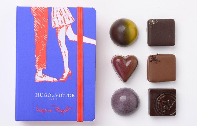 純愛をショコラで伝える『HUGO & VICTOR』の2019年バレンタイン