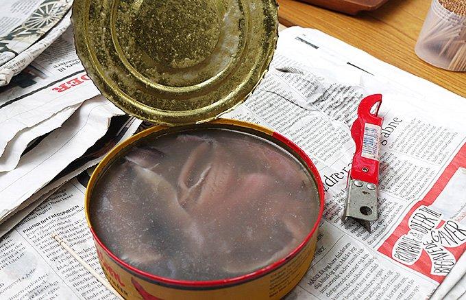【実録】世界一臭い缶詰「シュールストレミング」の食べ方!