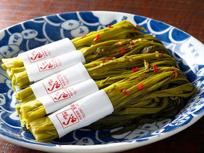 美味しさの違いがわかる!熊本県阿蘇たかな漬