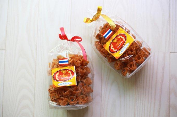 ココナッツの風味が広がるかりんとうみたいなタイのお菓子「ドックチョック」