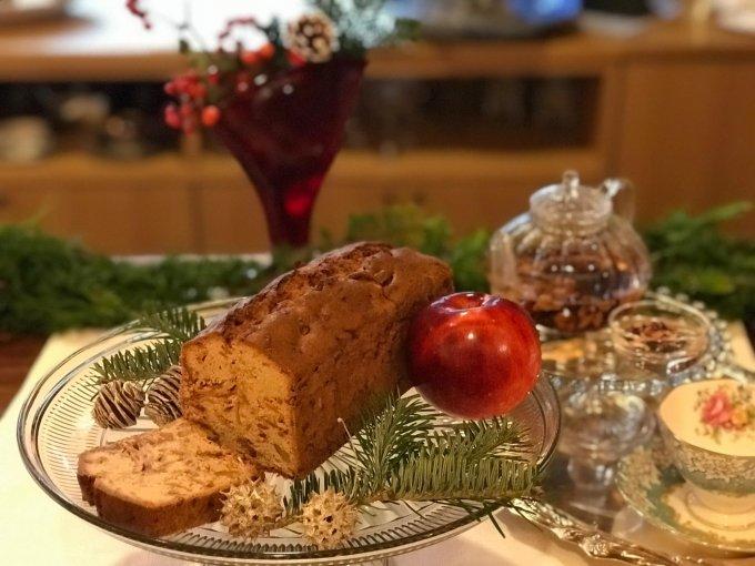 名誉総裁賞受賞店!『アップル&ローゼス』の「りんごのパウンドケーキ」