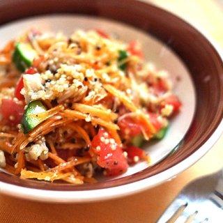 注目のスーパーフード「キヌア」で作る夏バテ予防サラダ