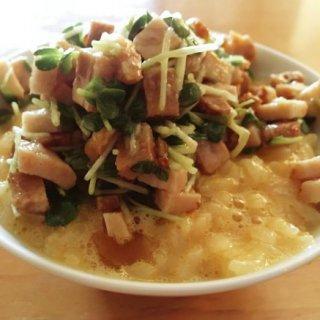 厚切り焼豚が決め手!みんなが大好き「卵かけご飯」を10倍美味しく食べる方法
