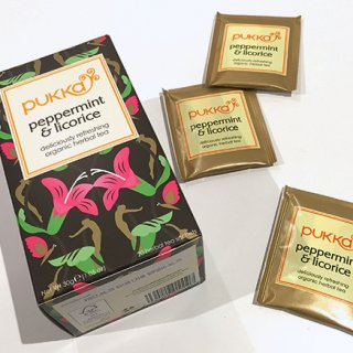 自然の甘みが沁みる「pukka」のペパーミント&リコリス有機ハーブティー