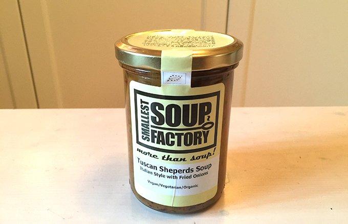 世界のキッチンから届くSMALLEST SOUP FACTORYの有機野菜スープ
