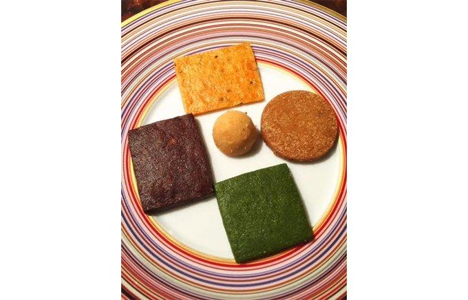 祇園の老舗フランス料理店よねむらが作る、京都の素材を生かしたクッキー