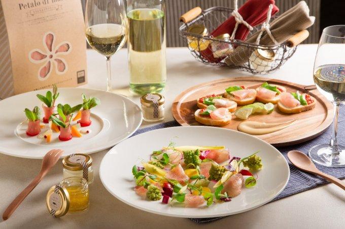 新食感!ワインが進む「Petalo di mare ~もちもちまぐろの生ハム~」