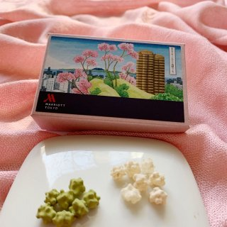 江戸時代からの桜の名所、御殿山のお菓子