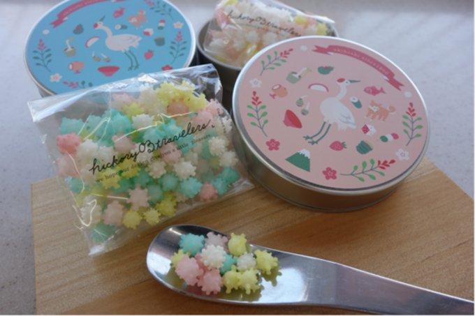 春の訪れを感じる。1900年創業の新潟老舗菓子屋の貴重な伝統菓子「浮き星」