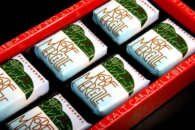 神戸らしいお洒落さを携えた、藻塩も使用のミルフィーユ「神戸メルスィーユ」