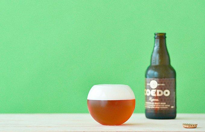 グラスで美味しさが変わる!COEDOビールを飲むための特注コラボグラス