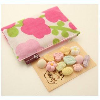 ささやかな贈り物に!縁起のよい宝尽くしの和菓子「宝ぽち袋」