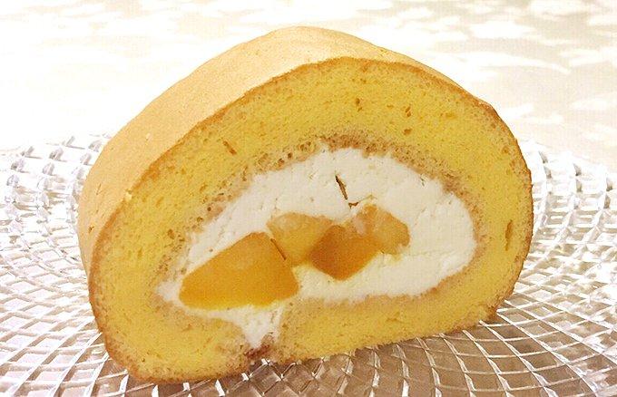 季節限定!グーテ・ド・ママンの宮古島マンゴーロールケーキ