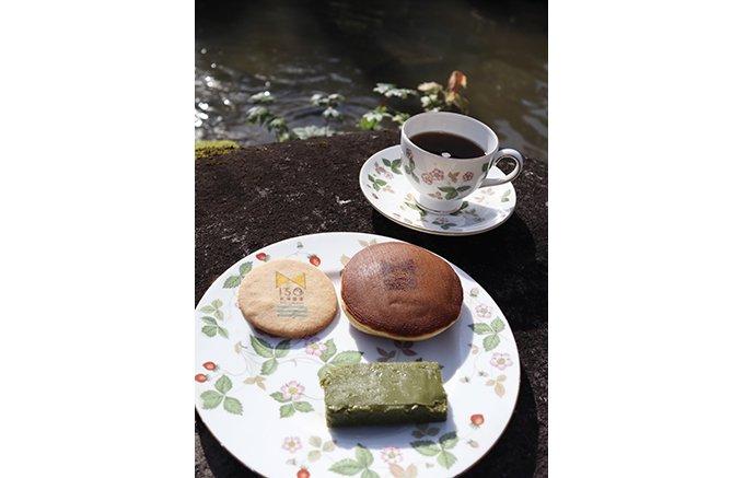 新潟開港150年と老舗菓子やのコラボ