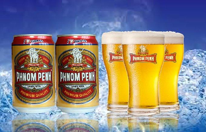 クメール料理とベストマッチ! コクも風味も豊かな「プノンペンビール」