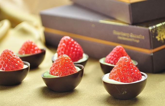 チョコレートとフルーツのとってもいい関係から生まれた甘酸っぱいフルーツチョコ